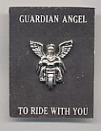 Motorcycle Pin- Angel on Motorcycle